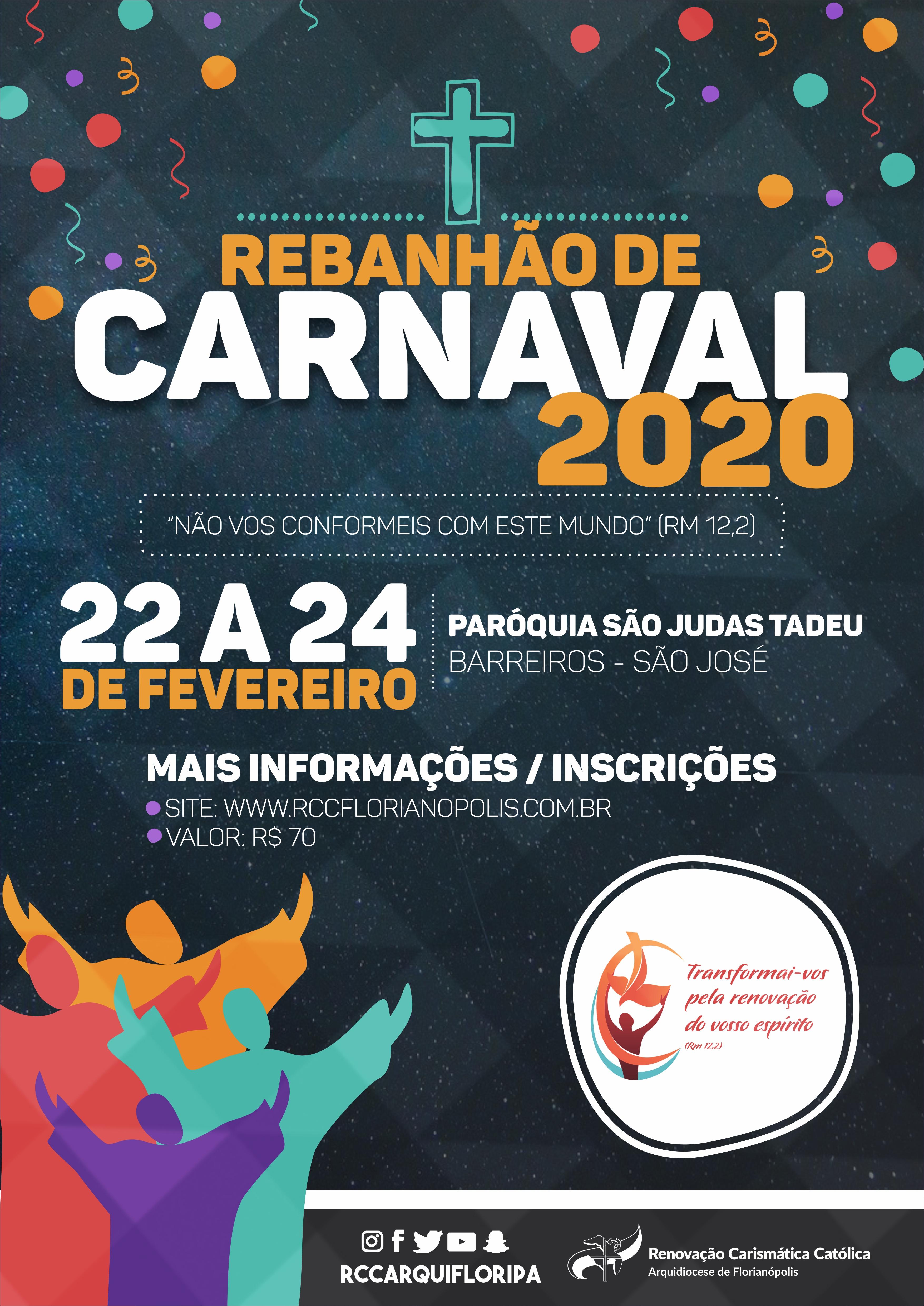Inscrições para o Rebanhão de Carnaval estão abertas