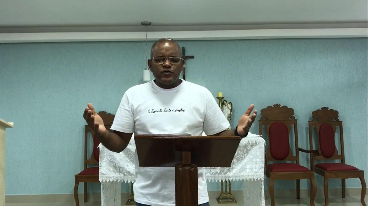 Vicente Gomes da RCC Goiás pregou no Cenáculo de Pentecostes na tarde deste domingo