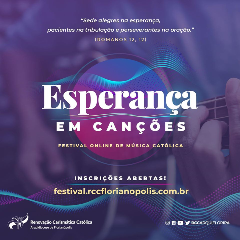 Festival on-line de música Esperança em Canções alcança a marca de 100 mil votos