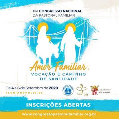Abertas inscrições para o Congresso Nacional da Pastoral Familiar