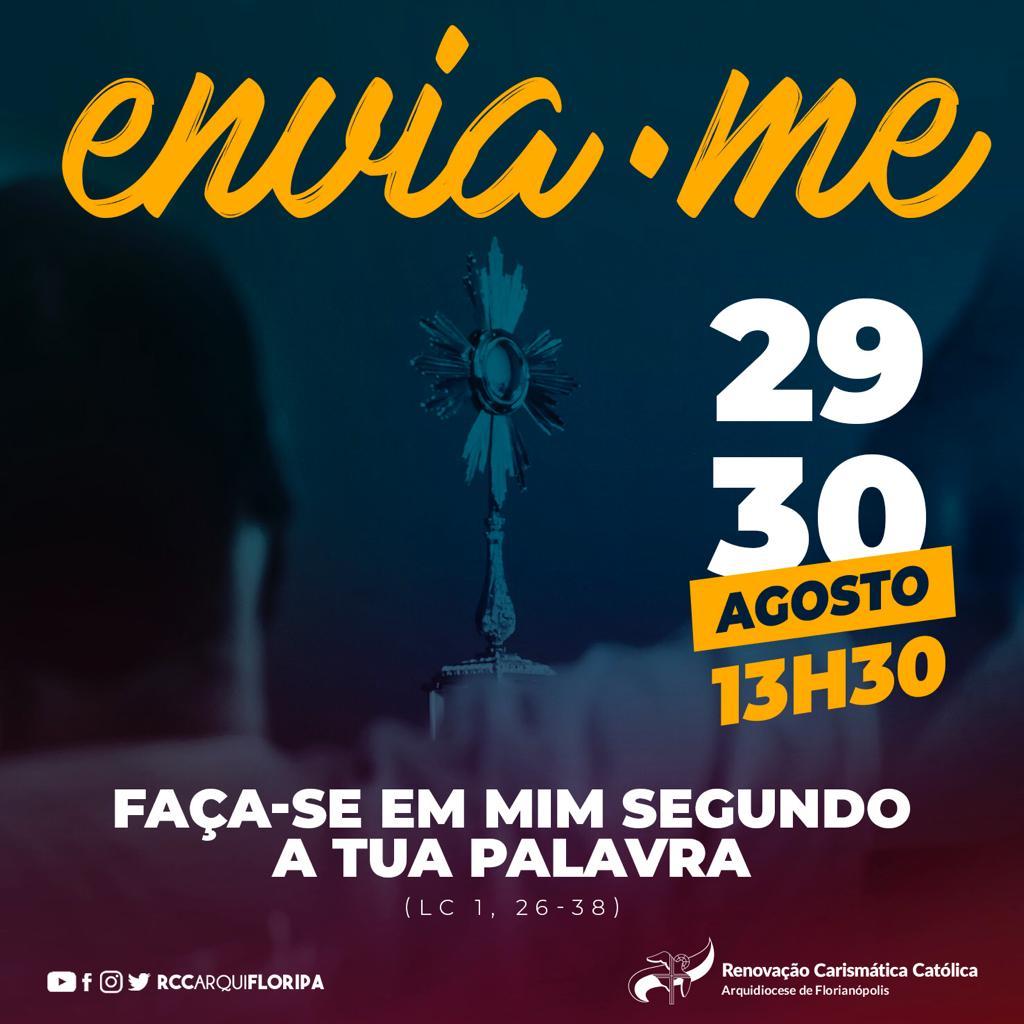 Ministério Jovem promove evento on-line Envia-me